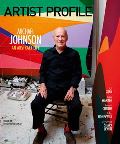 Artist Profile Cover - click to read Artisr Profile Magazine review of the show
